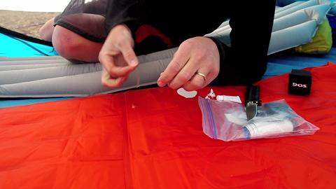Learn to Patch a Sleeping Pad