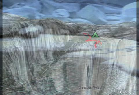 Backpacker Magazine: 3D Flyover, Yosemite's North Rim