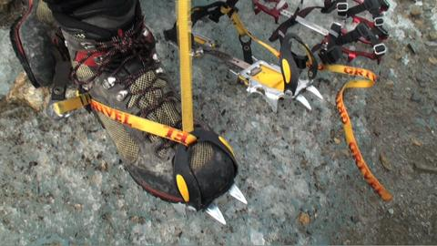 Mountaineering 101: Putting On Crampons