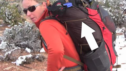 Adjust Your Pack Straps on the Trail