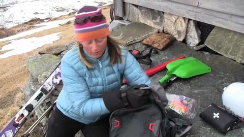 Packing for a Backcountry Ski Day