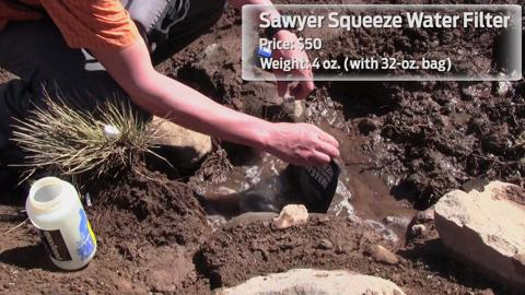 Editors' Choice 2012: Sawyer Squeeze Water Filter