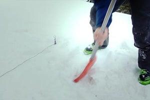 Winter Skills: Make Deadman Tent Stake Anchors