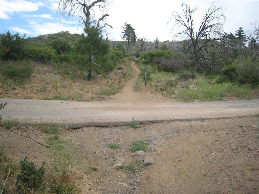 Hiking Noble Canyon-Indian Creek-Pine Mountain Loop near ...