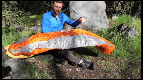 Gear Review: Thermarest Antares Sleeping Bag