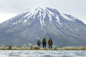 BACKPACKER Hikes Taranaki National Park, New Zealand