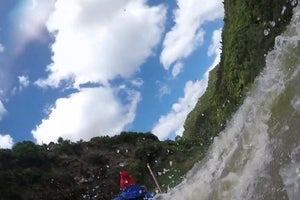 Video: BACKPACKER Videographer Canoes Into Whirlpool