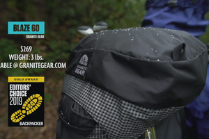 Editors' Choice Gold Awards 2019: Granite Gear Blaze 60