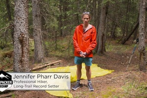 ULTRALIGHT BACKPACKING – HOW TO SET UP A TARP