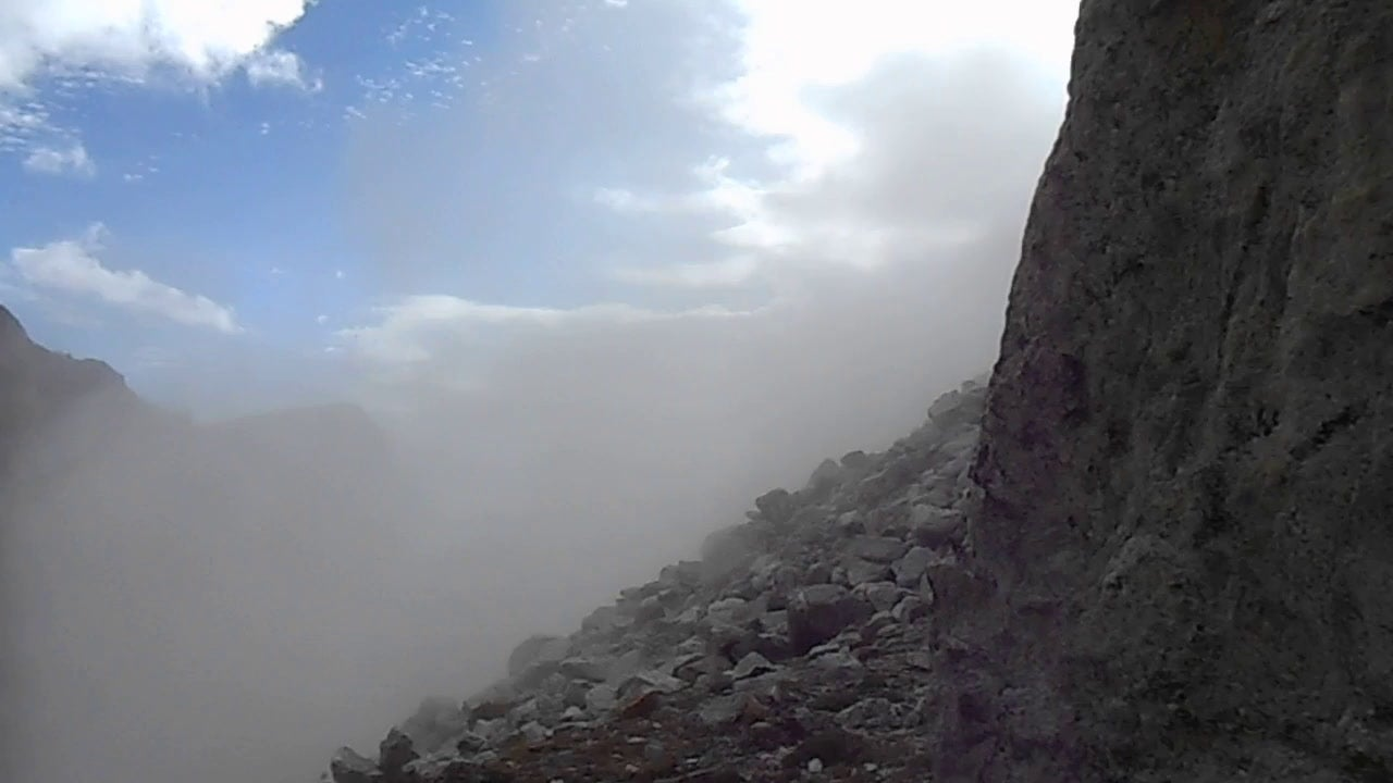 WATCH: Rockslide in Grand Teton National Park
