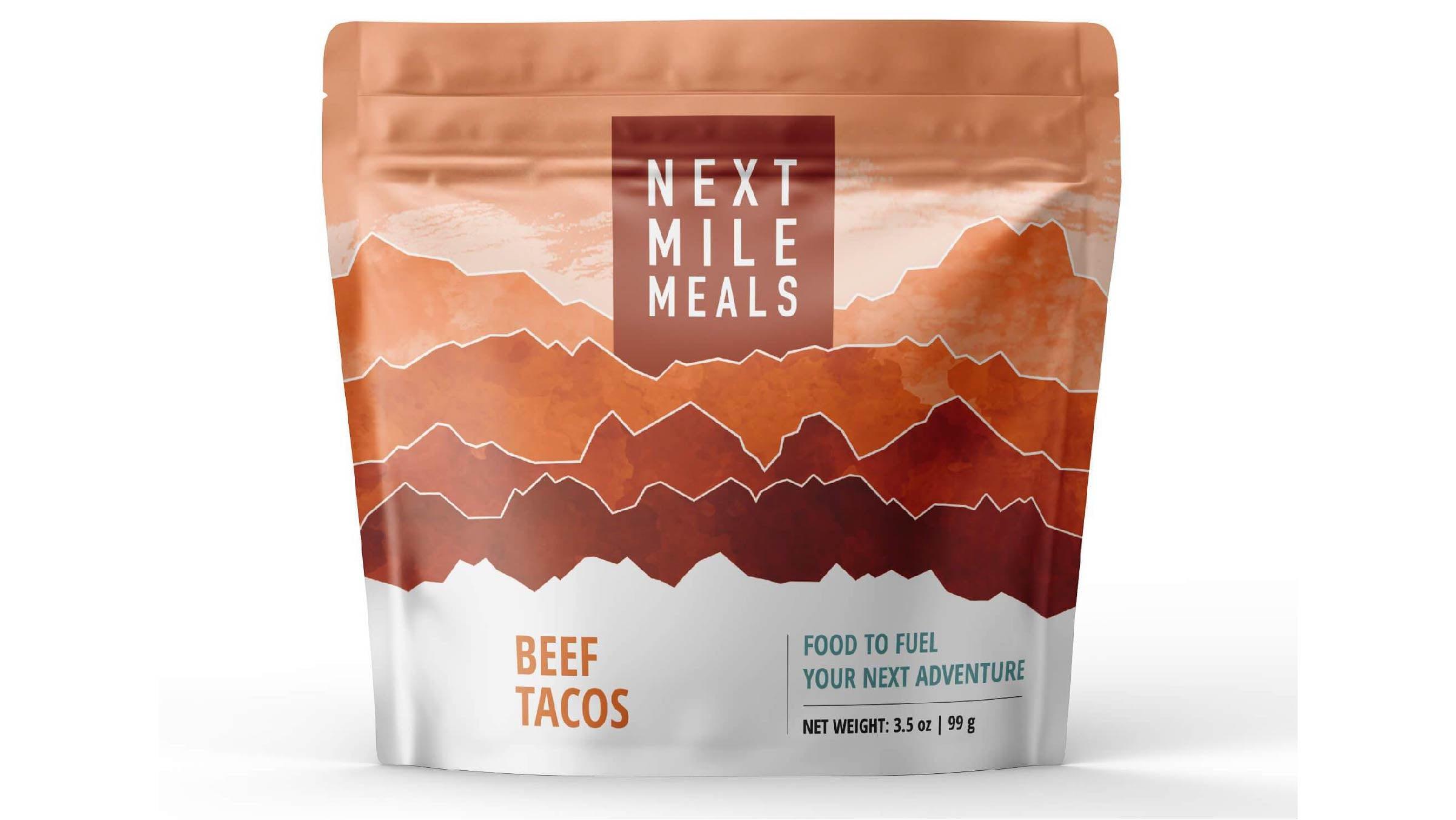 Next Mile Meals Beef Tacos