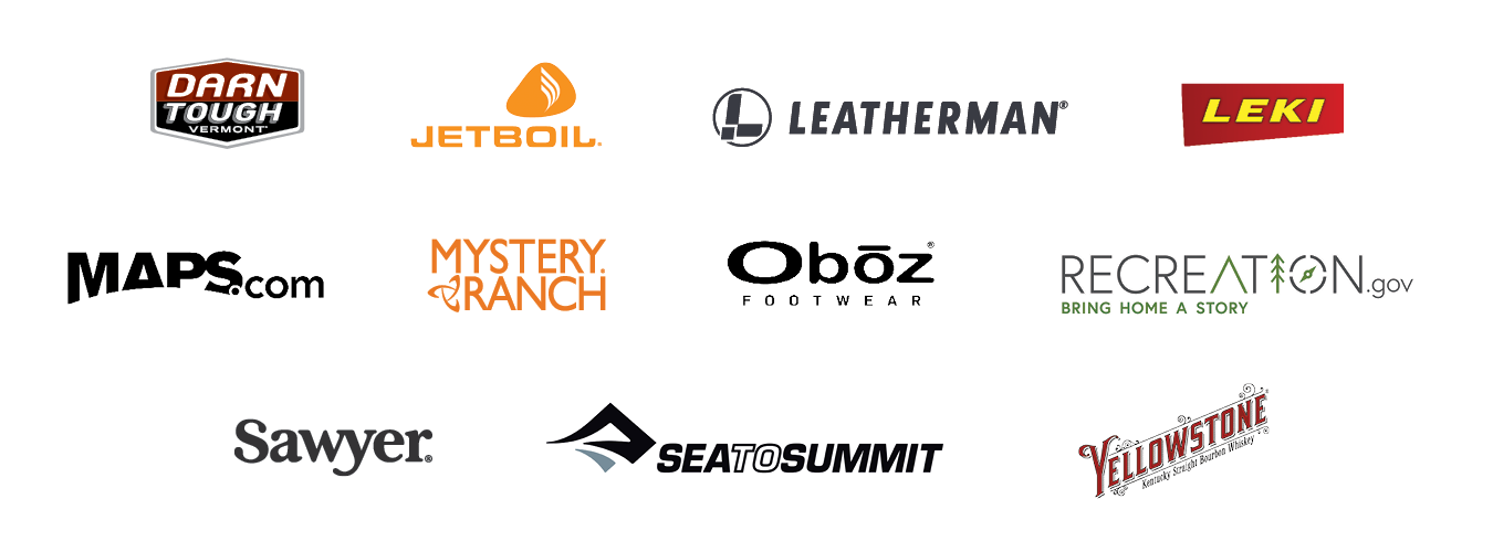 Collection of Get Out More TV sponsor logos