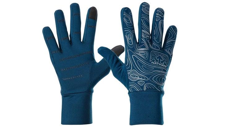 Nathan Reflective Running Gloves