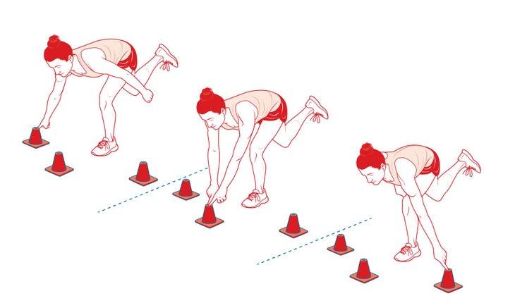 cone exercise